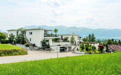 4.5-Zimmer Gartenwohnung an der Landwirtschaftszone in Uznach