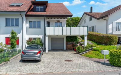 5.5-Zimmer-Haushälfte am Rande des Naherholungsgebietes Kindhausen
